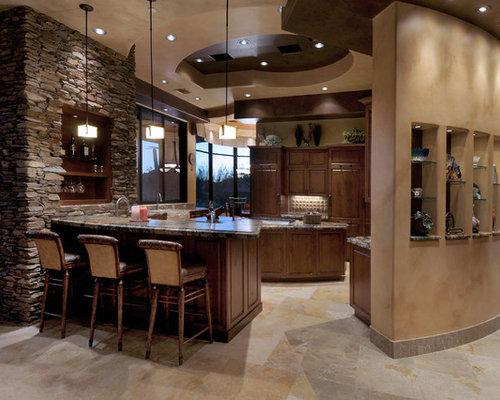Southwestern flexible kitchen design ideas remodel for Southwestern kitchen designs