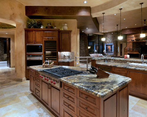 Volcano kitchen design ideas remodel pictures houzz for Southwestern kitchen designs