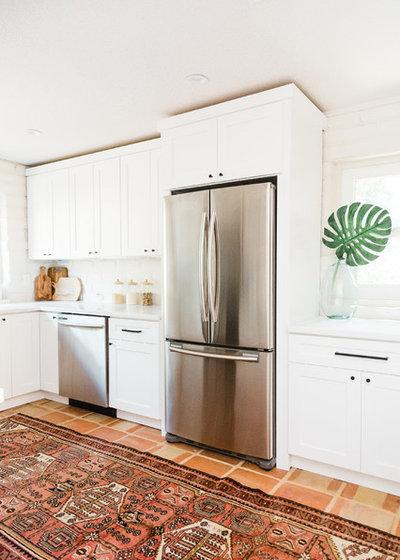 Southwestern Kitchen by Shelter Residential