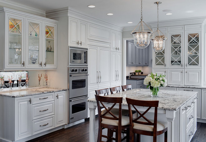 Traditional Kitchen by Drury Design