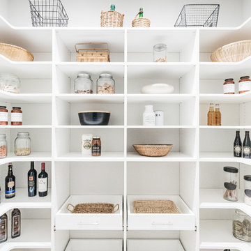 Well-Stocked Organized Pantry