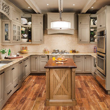 Contemporary Kitchen by Wellborn Cabinet, Inc.
