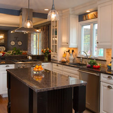 Transitional Kitchen by Nassau Suffolk Lumber & Supply