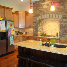 Traditional Kitchen by Kunz Carpentry