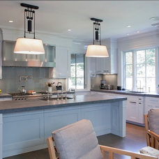 Transitional Kitchen by Morehouse MacDonald & Associates, Inc. Architects