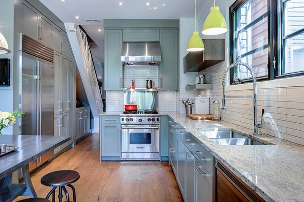 Contemporary Kitchen by Beauparlant Design inc