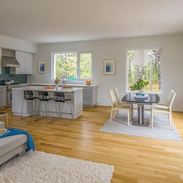 Wellfleet Modern House - Great Room