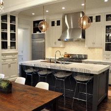 Contemporary Kitchen by Rebekah Zaveloff   KitchenLab