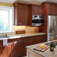Transitional Kitchen by WatchCity Kitchens LLC