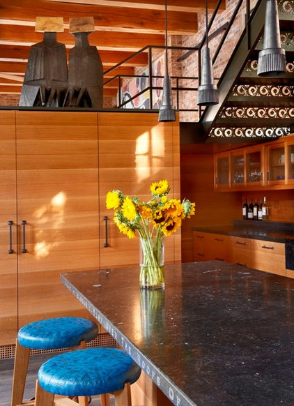 Contemporary Kitchen by Wells & Fox