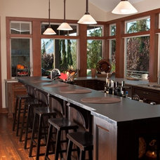 Eclectic Kitchen by Shugart Wasse