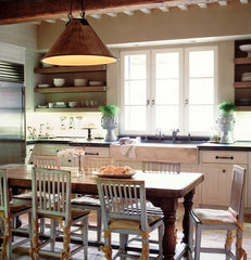 traditional kitchen by Wendi Young Design