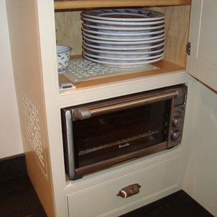 kitchen cabinet dishwasher built in toaster oven houzz 2473