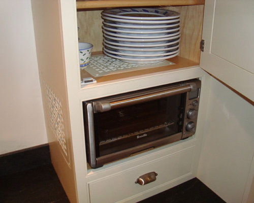 Microwave With Built In Toaster ~ Built in toaster oven houzz