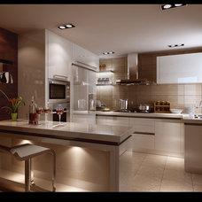 Modern Kitchen by Yuanmeng Kitchen