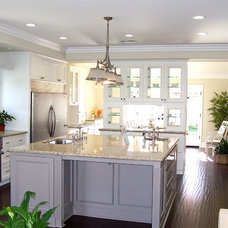 Traditional Kitchen by Carolyn Wesling