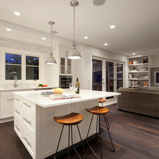 Transitional Kitchen by Novell Design Build