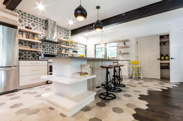 Transitional Kitchen by Align Design LLC