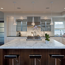 Contemporary Kitchen by Bulhon Design Associates