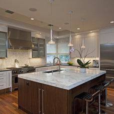 Contemporary Kitchen by Bulhon Design Associates