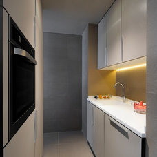 Contemporary Kitchen by Draw Link Group
