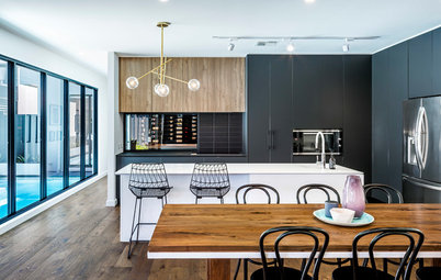 Room of the Week: Classic Colours Make a Contemporary Kitchen