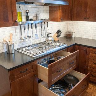 Kitchen - craftsman kitchen idea in Philadelphia