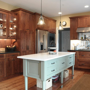 West Chester Kitchen featuring Dura Supreme Craftsman Panel Door