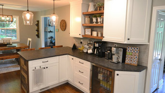 West Chester PA kitchen remodel with refinished floors, new window, and improved