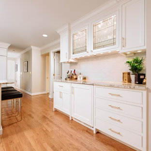 West Chester Traditional White Kitchen