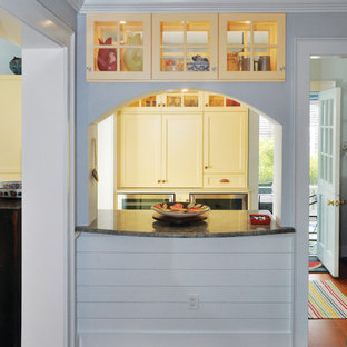 75 Beautiful Gray Kitchen With Yellow Cabinets Pictures Ideas