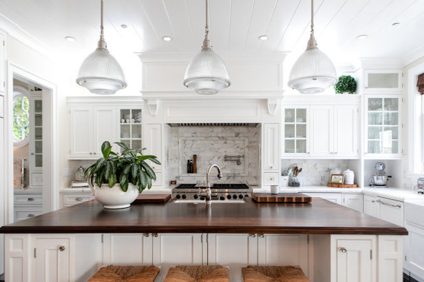 Traditional Kitchen by Paulina Perrault Interiors