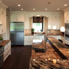 Traditional Kitchen by Willson Design