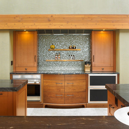 Eclectic Kitchen by The Sky is the Limit Design