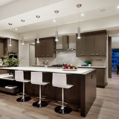 contemporary kitchen by Capstone Custom Homes