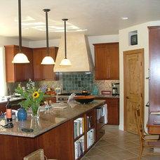 Mediterranean Kitchen by Kenneth P Munson - Architect