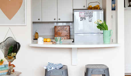 26 Ideas for Slotting in a Small Breakfast Bar