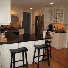 Transitional Kitchen by Showcase Kitchens