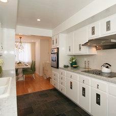 Contemporary Kitchen by Michelle Workman Interiors
