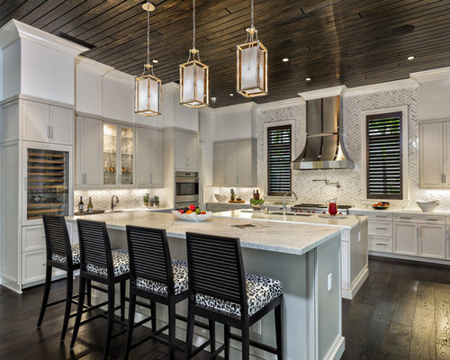 Transitional Miami Kitchen Design Ideas Remodel Pictures Houzz