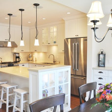 Traditional Kitchen by Tanya Schoenroth Design