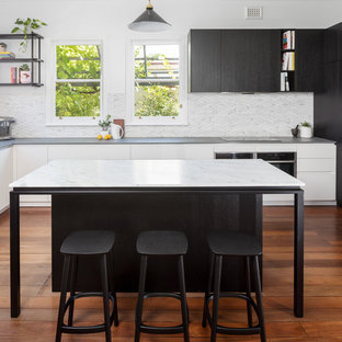 Photo of a scandinavian kitchen in Perth.