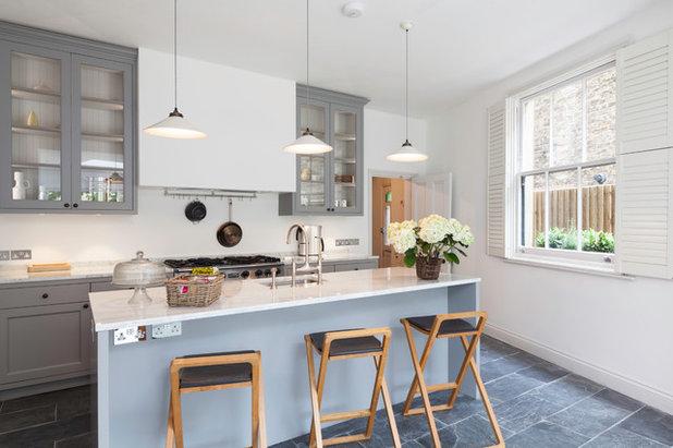 Transitional Kitchen by Rosie Browne-Clayton Designs