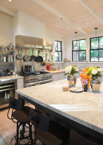 Eclectic Kitchen by Crescent Builders, Inc.