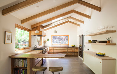 Kitchen of the Week: Organic Modern Style for a Chef and a Baker