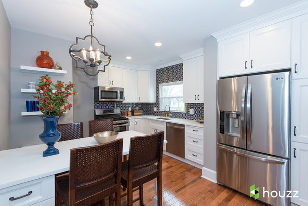 Transitional Kitchen by Jules Duffy Designs