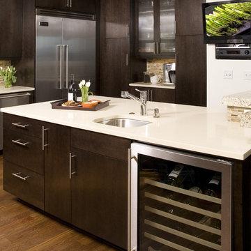 West Seattle Contemporary Kitchen