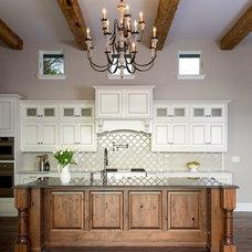 Mediterranean Kitchen by Ripple Design Studio, Inc.