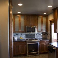 Traditional Kitchen by Kitchen & Bath Design Center