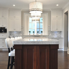 Traditional Kitchen by Sarah Gallop Design Inc.